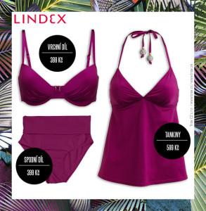Jedny plavky Lindex dokáží nabídnout hned několik stylu a nahradit více kousků v našem letním šatníku.