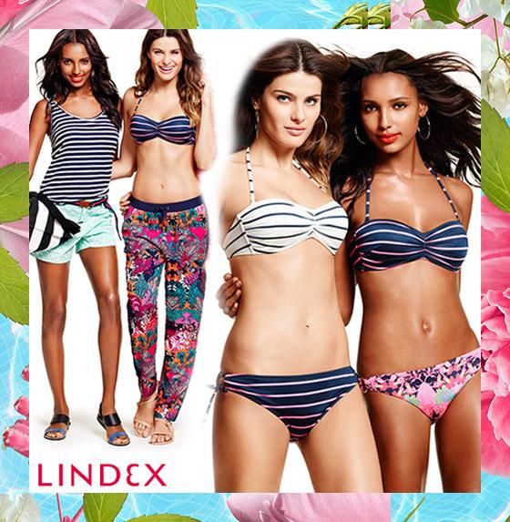 Plavky Lindex: Prepy styl v plavkové kolekci Lindex.