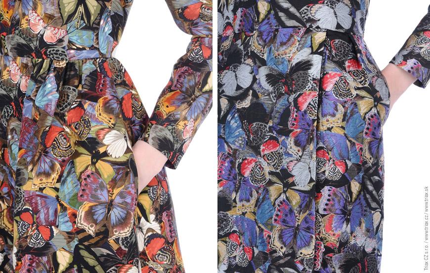 Teplo vs. svěžest – to jsou dva barevné akcenty kolekce Camubutterfly od Valentino.