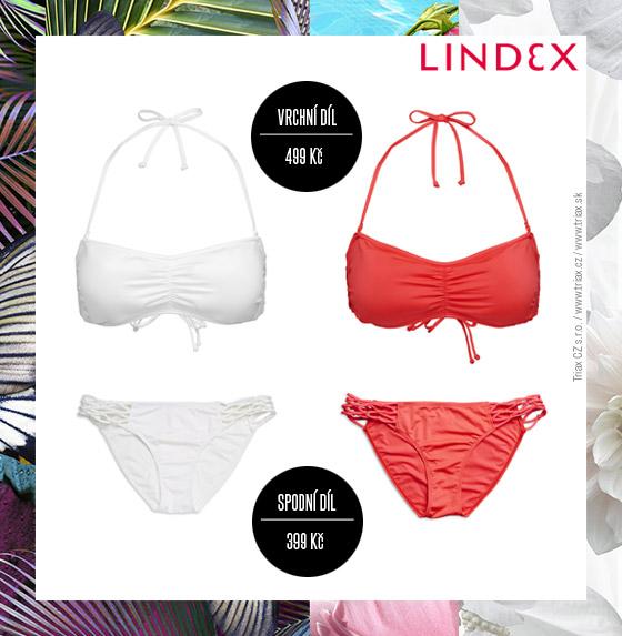 Plavky Lindex: Velice povedený model plavek se síťkou na bocích plavkových kalhotek.