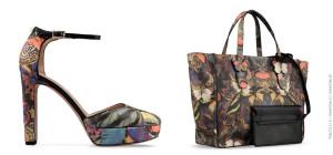Camubutterfly – boty a kabelka z úžasné kolekce s motýlí kamufláží od Valentino (Pre Fall 2014).