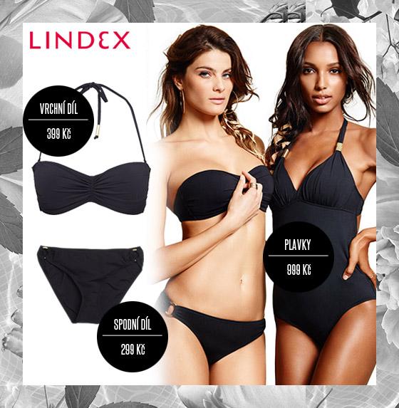 """Plavky Lindex: """"černá je černá"""" a tak by černé plavky nikdy neměli v našem šatníku chybět. Černé plavky Lindex nabízí v mnoha variacích."""