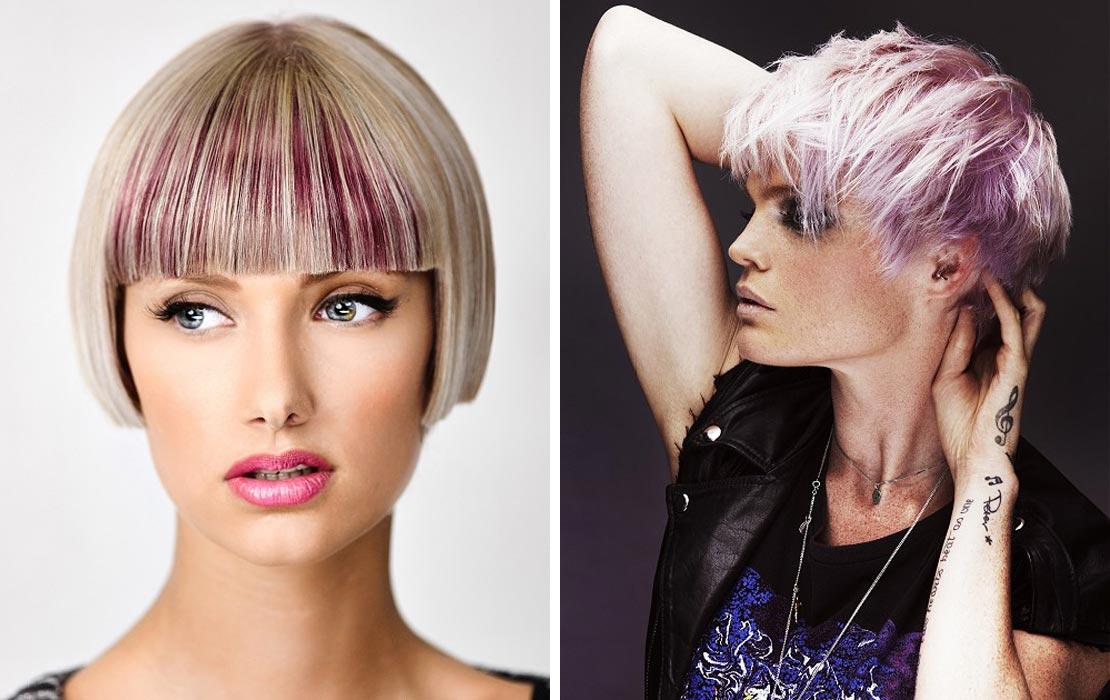 Krátké účesy pro léto 2014: Pinkni se do růžové!