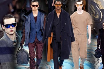 Aktuální pánská kolekce Louis Vuitton pro nadcházející podzim a zimu 2014/2015 je nekompromisně elegantní a maskulinní. Přináší řadu nových nápadů pro pánský šatník.