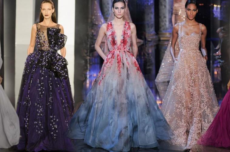 Nejluxusnější móda z Haute Couture naznačila nové plesové trendy. My vám je teď představíme na 100 modelech: podívejte se na večerní šaty 2014!