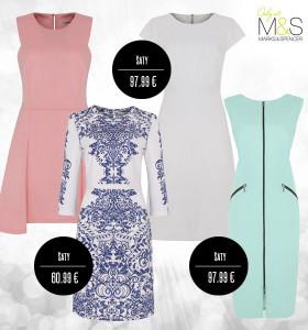 Šaty Marks&Spencer jsou elegantním oblečením do kanceláře.