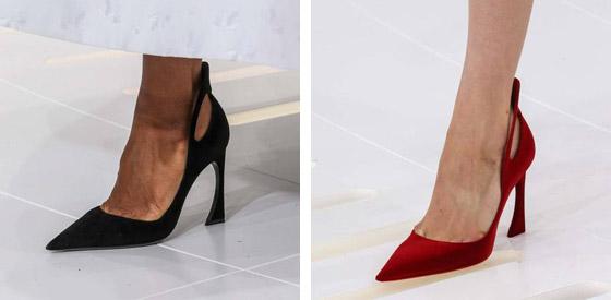 Boty Dior z Haute Couture kolekce pro podzim 2014.