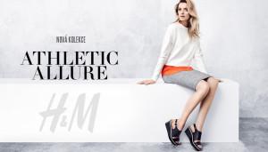 Nová móda H&M inspirovaná sportovním oblečením.