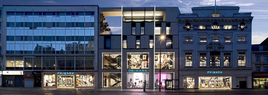 Obchod Primark v Londýně (Velká Británie)
