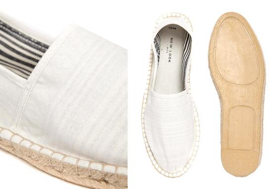 Pánské espadrilky stylově v pánském botníku nahradí nevzhledné pantofle a sandály.
