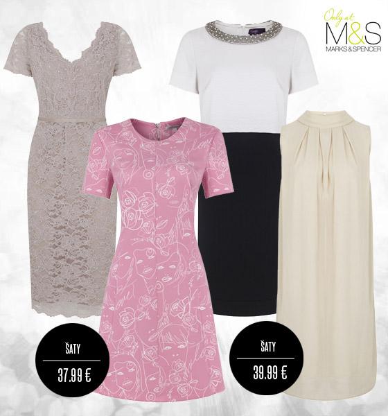 Šaty Marks&Spencer jsou ženské a elegantní.