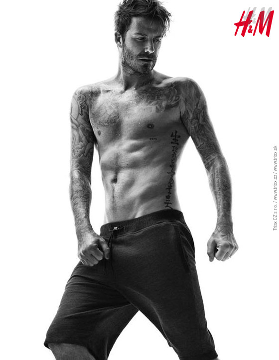 H&M bodywear collection A/W 2014/15 by David Beckham.