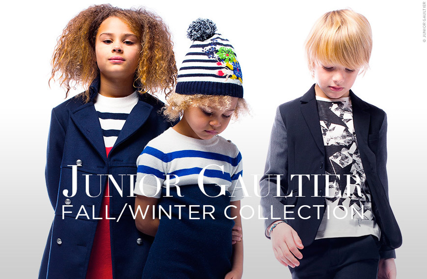Módní kolekce pro děti Junior Gaultier podzim/zima 2014/15