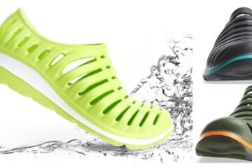Stylové pánské boty do vody. Koupíte je na eBay.