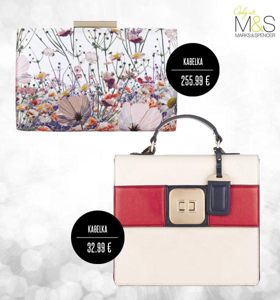 Kabelky z letní kolekce budou dokonalým společníkem pro šaty Marks&Spencer.
