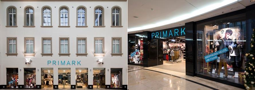 Obchod Primark v Karlsruhe (Německo)
