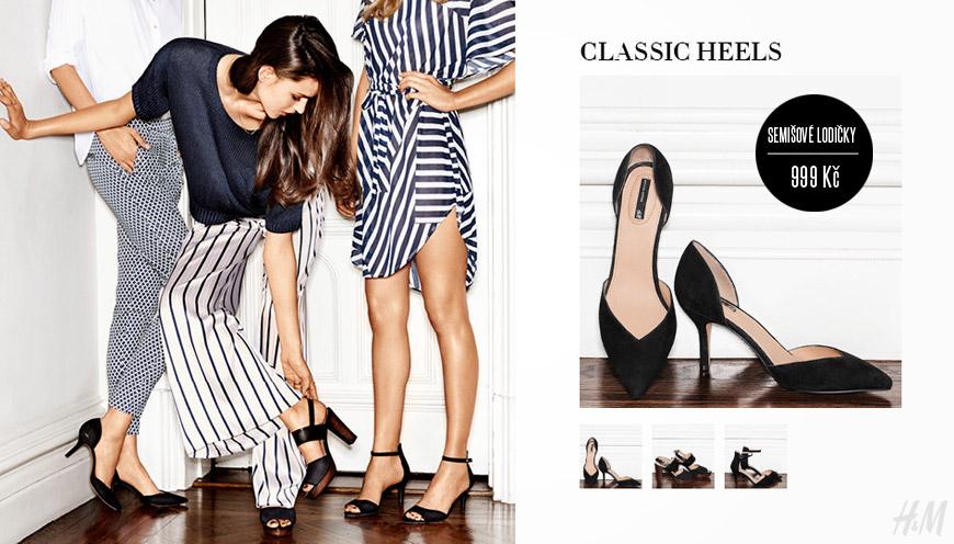 Boty H&M vás obují k šatům i kalhotům všech střihů.
