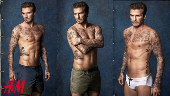 Plavky H&M by David Beckham – léto 2014