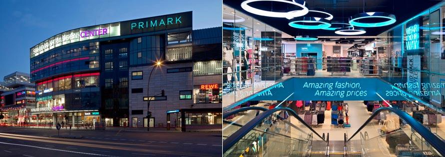Obchod Primark v Berlíně (Německo)