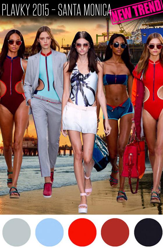 Plavky 2015 – trend Santa Monica