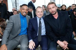 Přehlídku pánské kolekce navštívilo spousty celebrit, mezi nimiž nechyběl i Will Smith