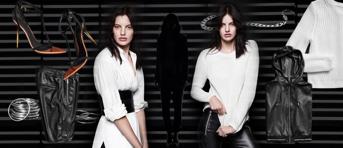 H&M fashion se teď představuje jako černobílá móda ve speciální, již podzimní HM kolekci pro rok 2014. Vyberte si svoje black&white kousky!