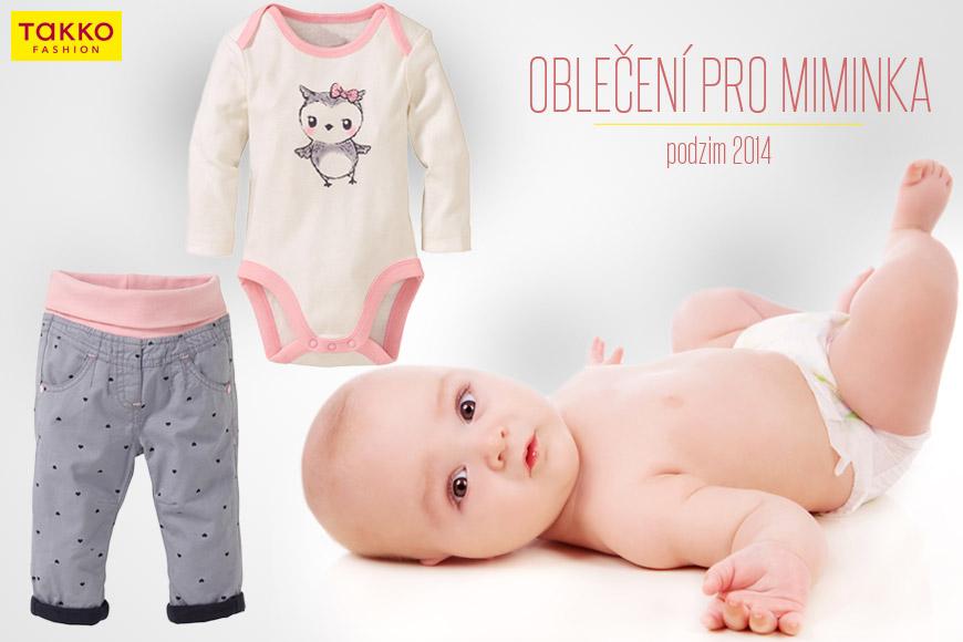 Oblečení pro miminka z Takko Fashion – vše od dupaček až pro oblečení pro první krůčky.