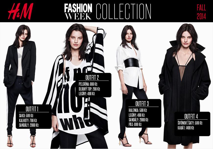 Móda H&M Fashion Week – zkuste nové HM outity pro letošní podzim!