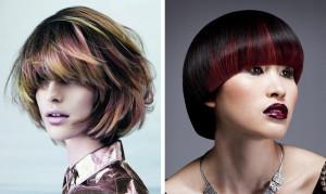 Trendem roku 2014 jsou mikádo účesy jako umění koloristů.