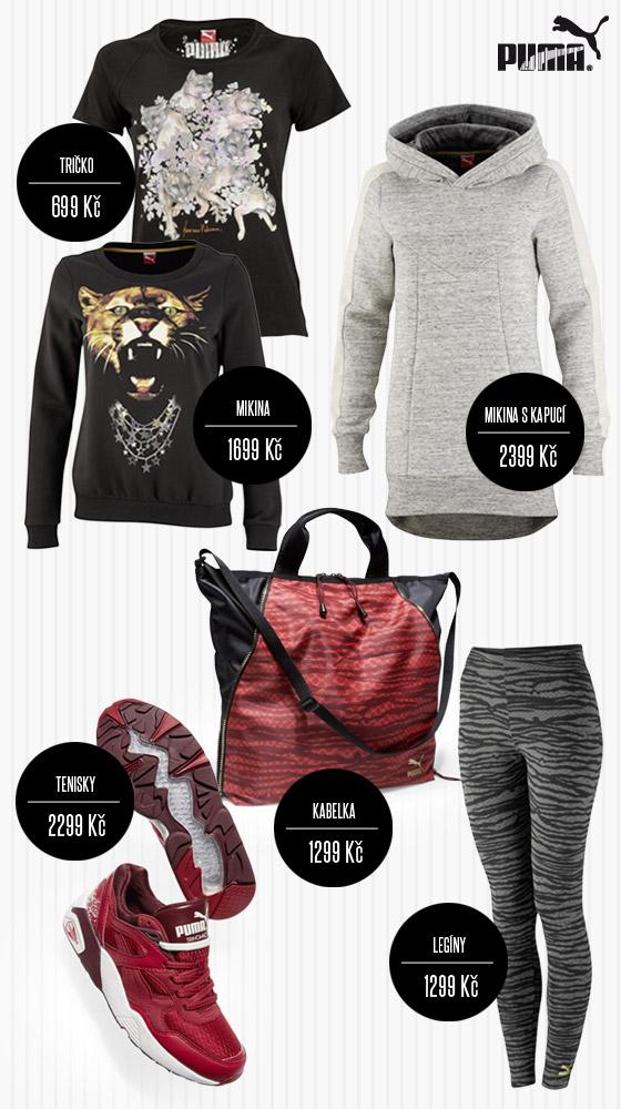 Oblečení a boty PUMA, které bude vaše kabelka PUMA milovat!