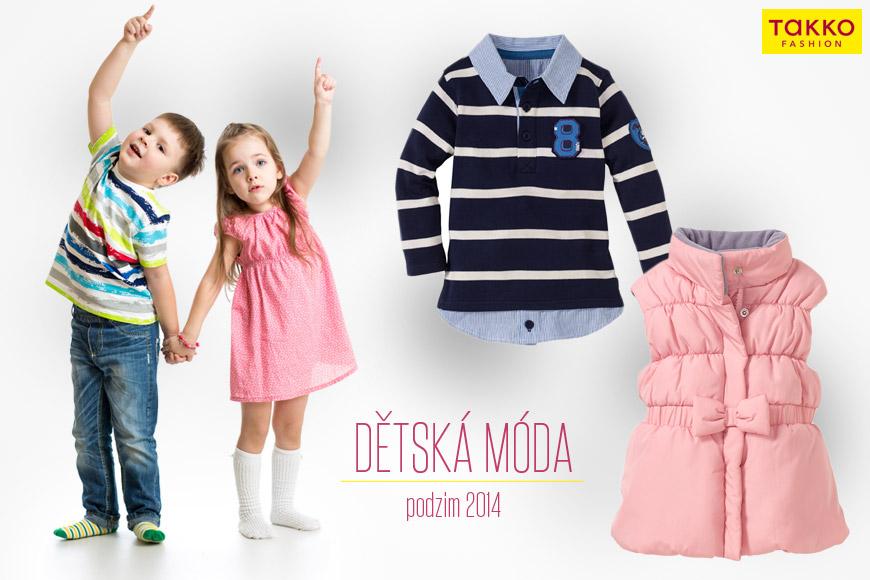 afd194d8ecc Dětské oblečení z Takko Fashion pro podzim 2014.