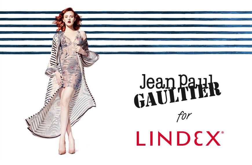 Pruhy a tatoo, čiže motivy tetování, jsou hlavní motivy kolekce Jean Paul Gaultier pro Lindex.