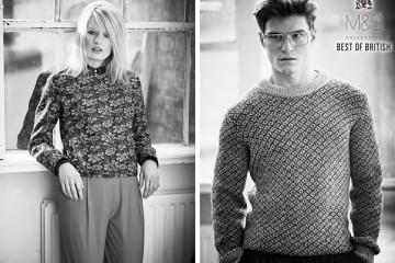 Dámská kolekce Marks&Spencer Best of British nabídne kabáty, šaty, sukně, halenky, módní doplňky i boty.