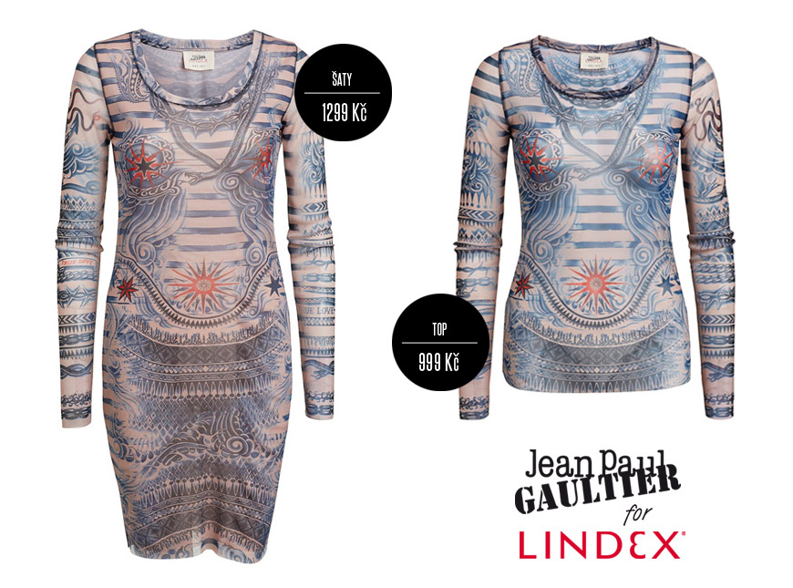 Móda v kolekci Gaultier x Lindex je vzájemně kombinovatelná do úžasných outfitů!