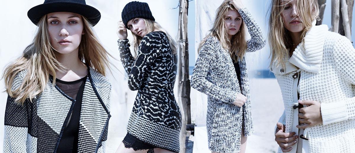 Sezóna svetrů, pulovrů a roláků je tady. Podívejte se, jaká pletená móda na vás čeká v oblíbeném butiku – svetry New Yorker v must-have katalogu!