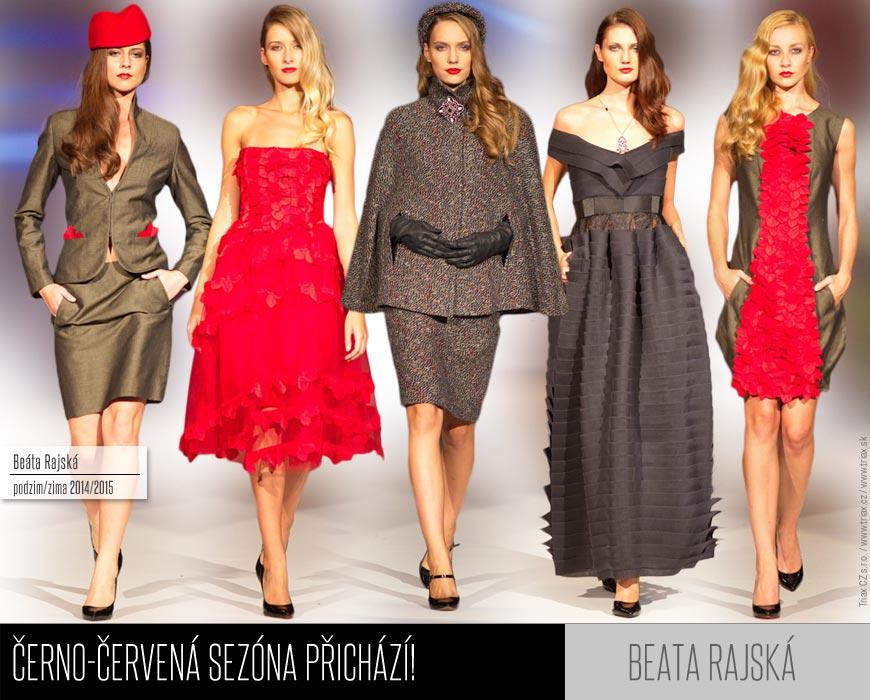 Beata Rajská představila svoji módní kolekci pro podzim/zima 2014/2015.