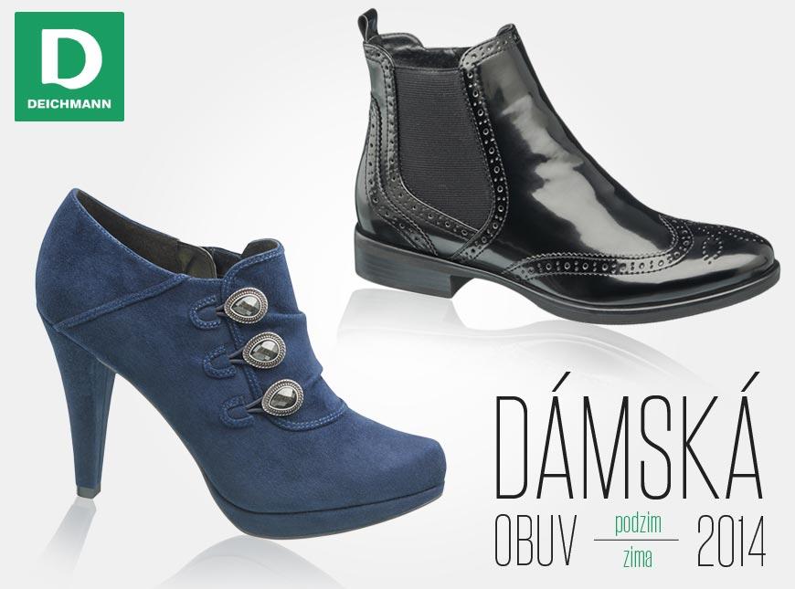 Obuv Deichmann z kolekce podzim zima 2014 2015 – pánské i dámské modely  uspokojí 0539989093