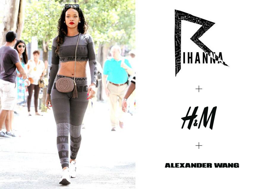 Rihanna se na newyorském Fashion Week objevila v outfitu, který ještě nikdo neviděl – jde o první kousky z kolekce Alexander Wang pro H&M.