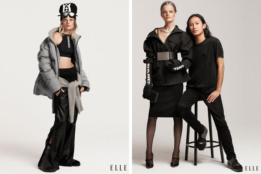 Alexander Wang pro H&M na stránkách ELLE: První kousky z dámské kolekce se objevily na stránkách ELLE a nizozemského Vogue