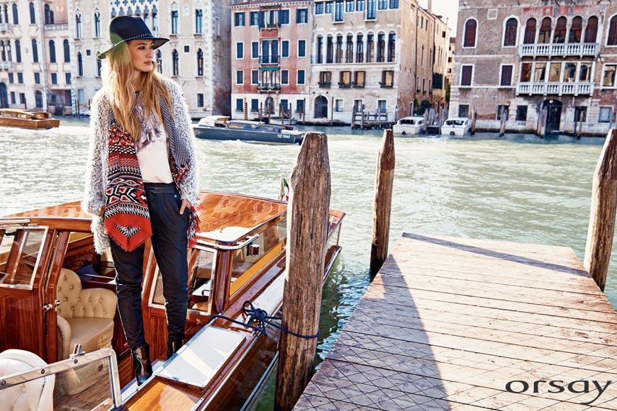 Trendy oblečení Orsay ve stylu Boho Chic přichází s novými kombinacemi materiálů, vzorů i barev.