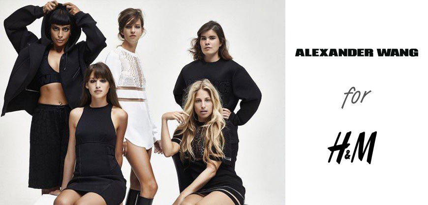 Alexander Wang pro H&M na stránkách VOGUE: První kousky z dámské kolekce se objevily na stránkách ELLE a nizozemského Vogue