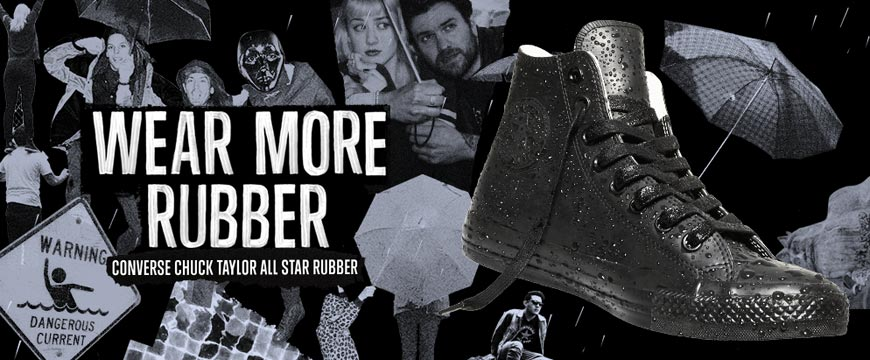 Conversky Chuck Taylor All Star Rubber – nový kamarád do deště pro letošní podzim 2014.