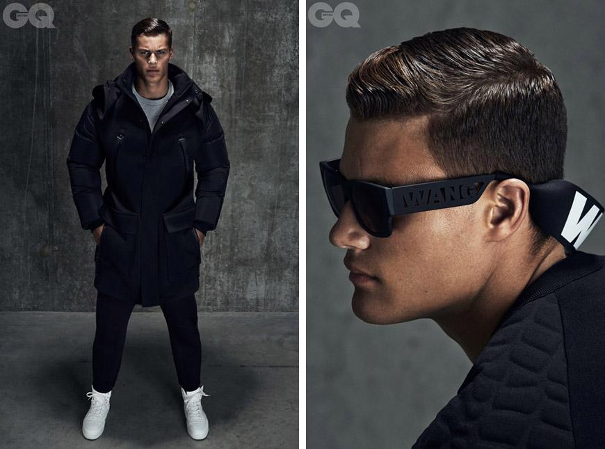 Alexander Wang pro H&M na stránkách CQ magazínu.