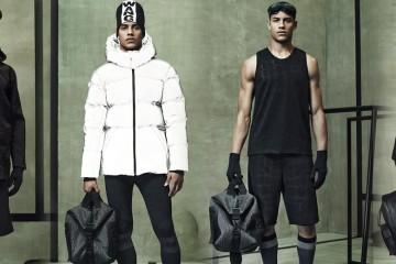 Pánská kolekce Alexander Wang pro H&M a její kompletní lookbook vám představí nový futuristický pohled na pánskou sportovní módu.