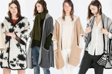 Mezi trendy kabáty podzimu a zimy 2014/2015 přibyl zcela nový nápaditý kousek – dekové kabáty. Kabát jako deka připomíná pončo či pelerínu.