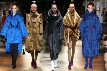 Módní kolekce Hany Zárubové IFORM pro podzim a zimu 2014/2015 byla představená na módní přehlídce v rámci podzimní akce Designblok.