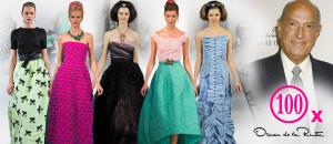 Jestli lze někoho prohlásit za velmistra večerní módy, tak jím byl rozhodně Oscar de la Renta. Podívejte se na 100 nejkrásnějších večerních šatů!