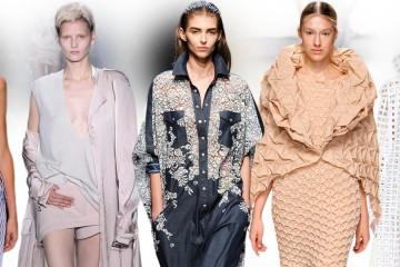 Fascinující móda z Paris Fashion Week. Módní kolekce z RTW kolekcí pro jaro a léto 2015.