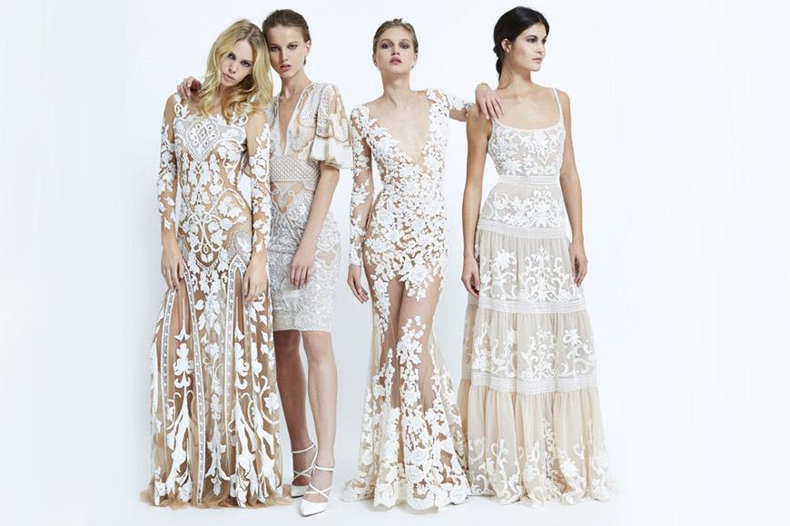 Móda v barvách nude a bílá vytváří pocit andělské éteričnosti. V RTW kolekci pro jaro 2015 od Zuhair Murad najdete přesně tuhle módní ideu.