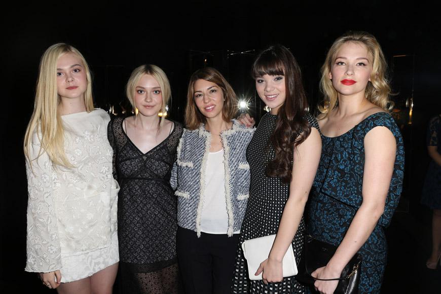 Elle Fanning, Dakota Fanning, Sofia Coppola, Hailee Steinfeld, Haley Bennett